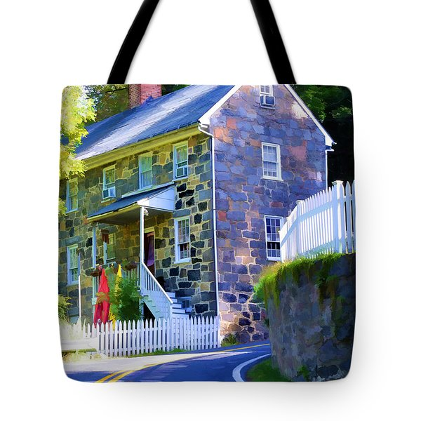 Granite Hill Tote Bag
