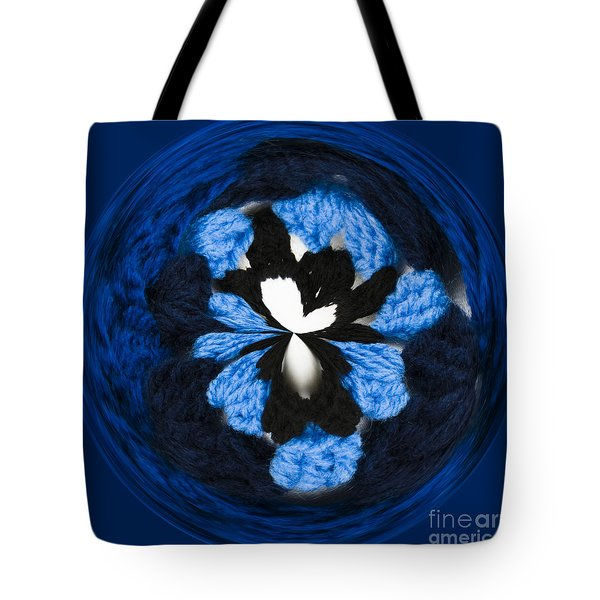 Granny Circle Tote Bag by Anne Gilbert