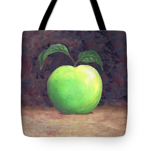 Granny Smith Apple Two Tote Bag by Linda Mears