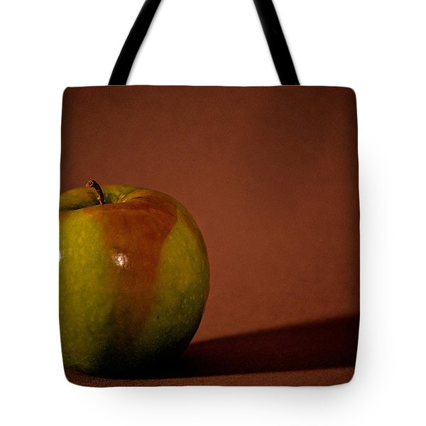 Tote Bag featuring the photograph Granny Smith by Sharon Elliott