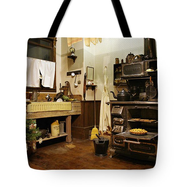 Granny's Kitchen Tote Bag by Marilyn Wilson