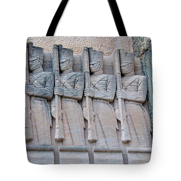 Grant Hall Cadet Fresco Tote Bag