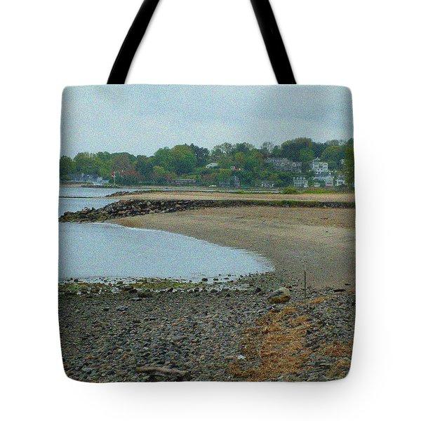 Granular Solitude Tote Bag