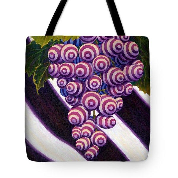 Tote Bag featuring the painting Grape De Menthe by Sandi Whetzel