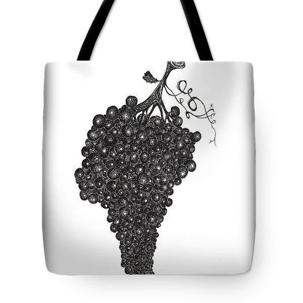Grapefull Greetings Tote Bag