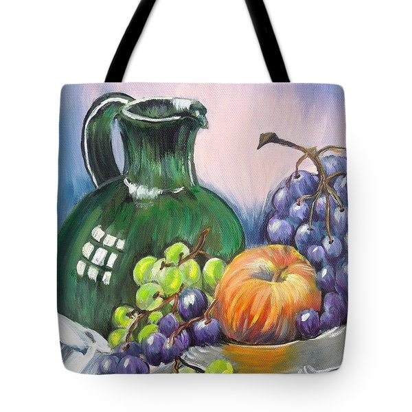 Grapes Galore Tote Bag