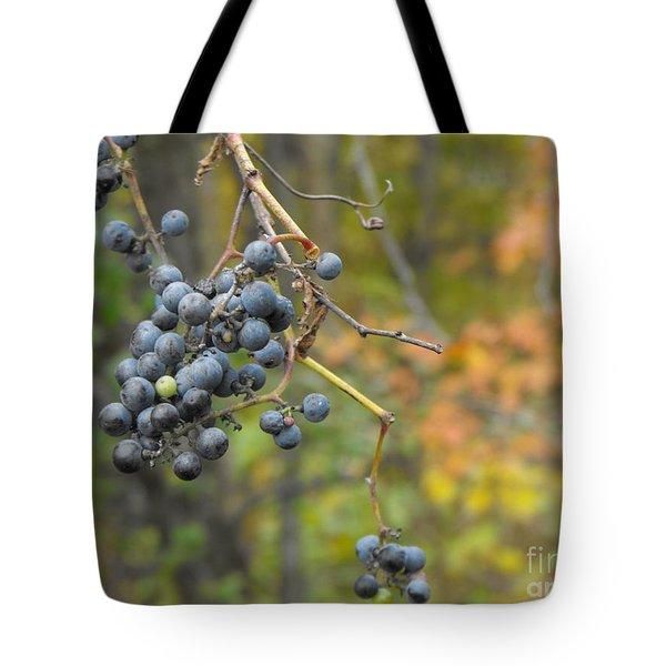 Grapes Left Tote Bag