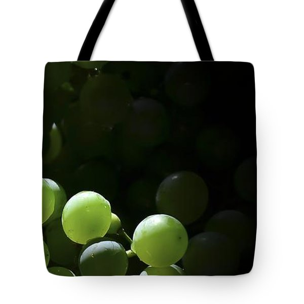 Grapes And Silver Tote Bag