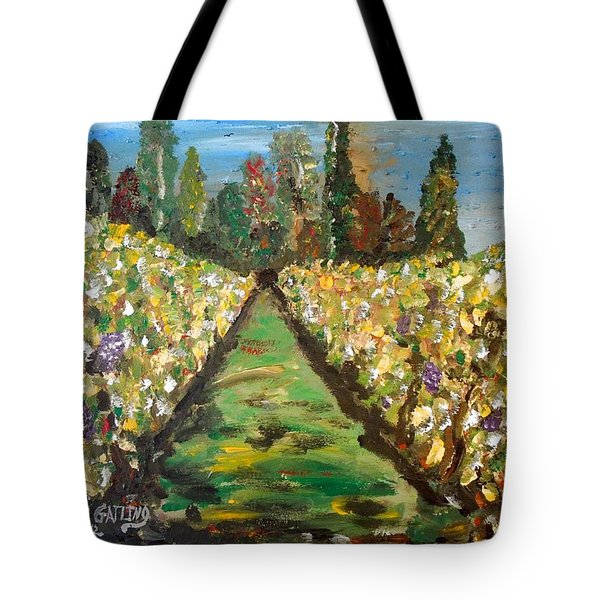 Grapes Of Tuscany Tote Bag