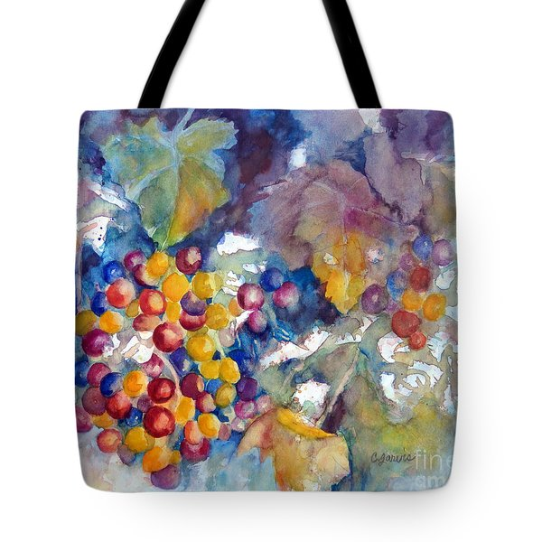 Grapes On The Vine Tote Bag