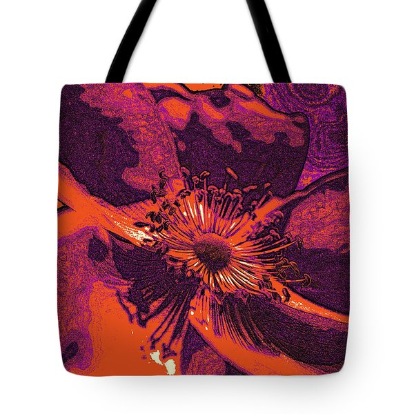 Tote Bag featuring the photograph Graphic Rose by Kelly Nowak