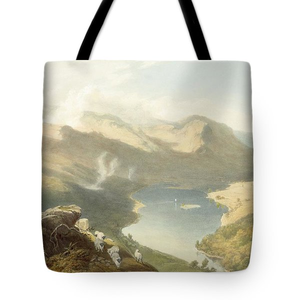 Grasmere From Langdale Fell, From The Tote Bag by James Baker Pyne
