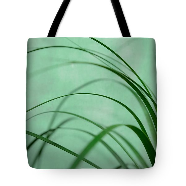 Grass Impression Tote Bag