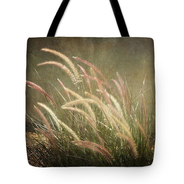 Grasses In Beauty Tote Bag