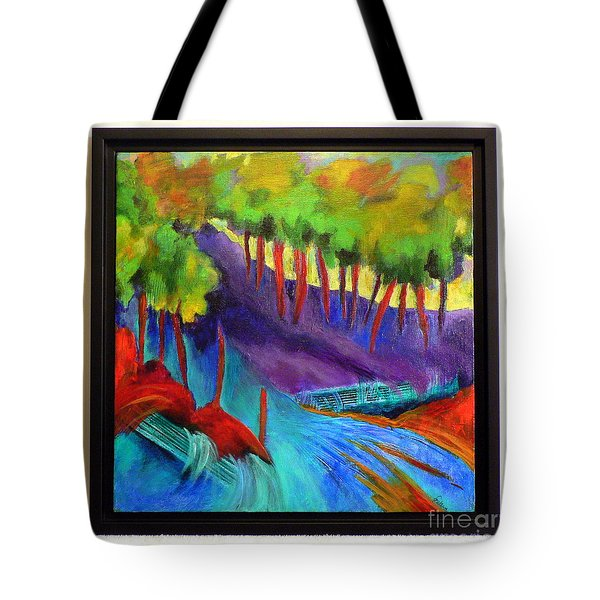 Grate Mountain Tote Bag by Elizabeth Fontaine-Barr