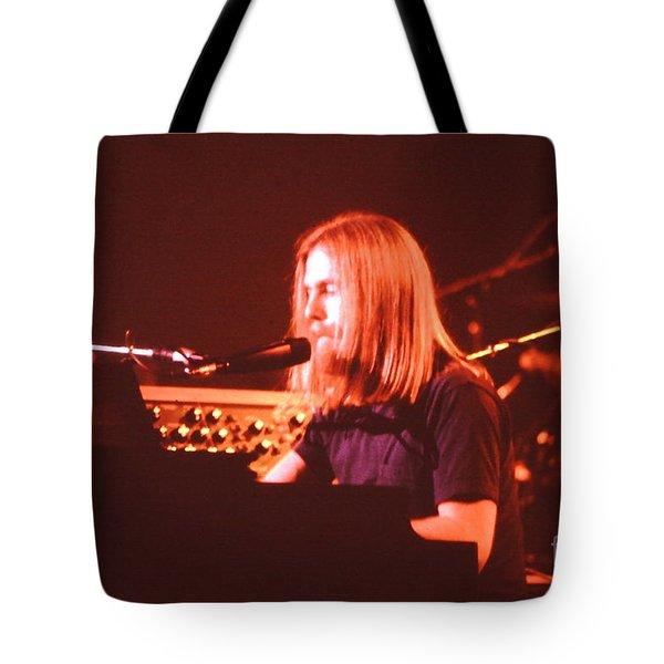 Grateful Dead Concert - Brent Mydland Tote Bag