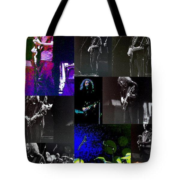 Grateful Dead - Nothing Like A Grateful Dead Concert Tote Bag by Susan Carella