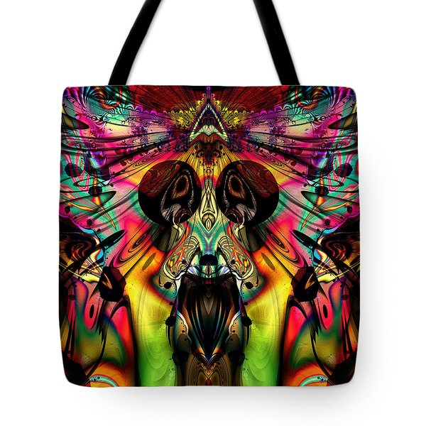 Grateful Desert Skull Tote Bag