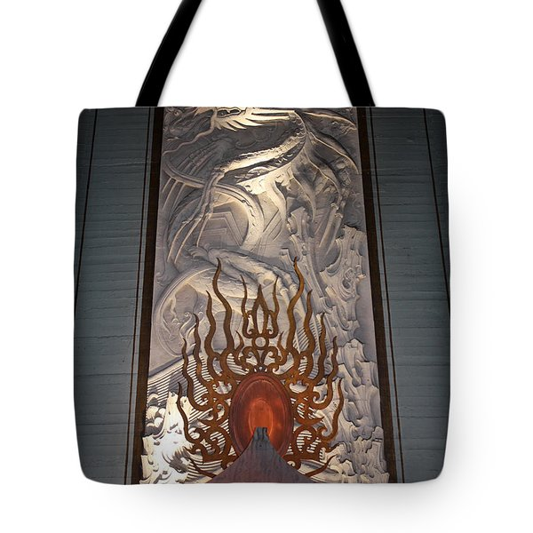 Grauman's Artwork Tote Bag