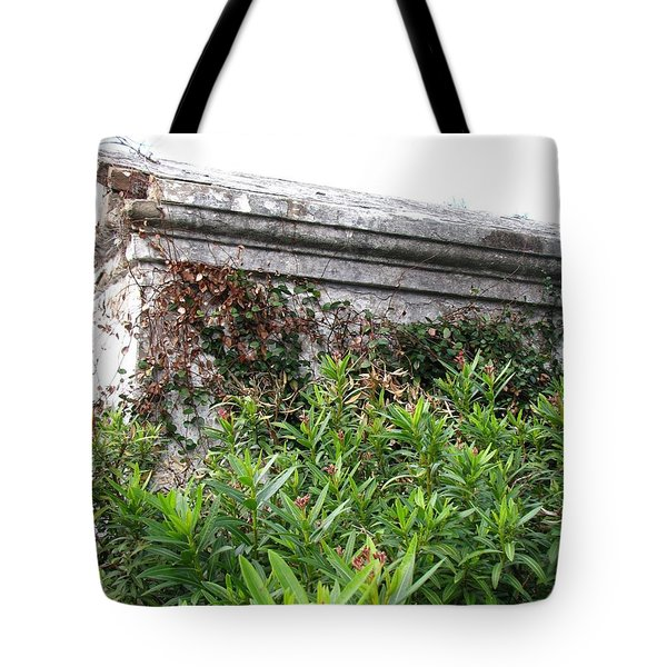 Tote Bag featuring the photograph Grave by Beth Vincent