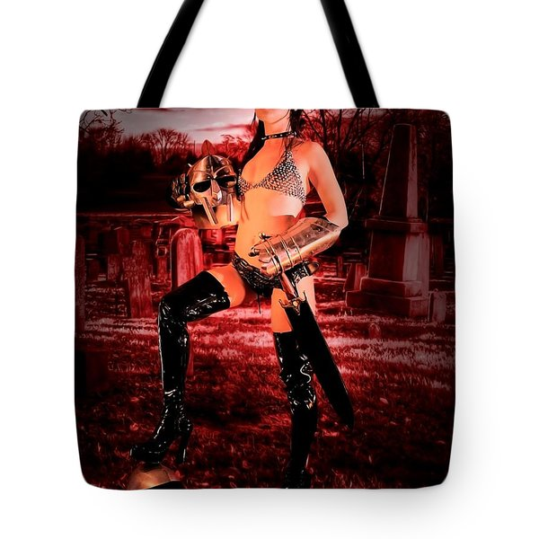 Grave Hunter Tote Bag