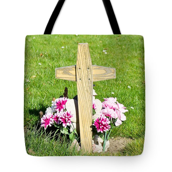 Grave Tote Bag by Tom Gowanlock