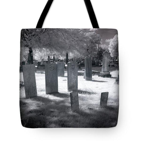 Graveyard Tote Bag by Terry Reynoldson