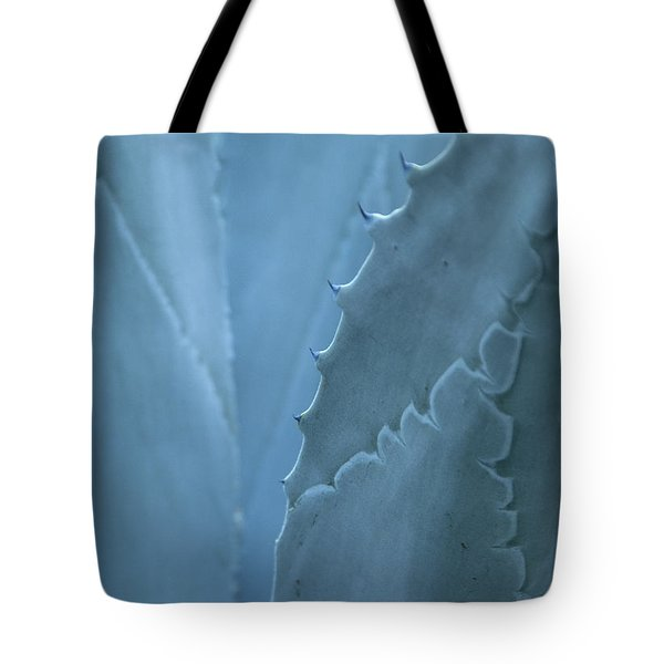 Gray-blue Patterns Tote Bag