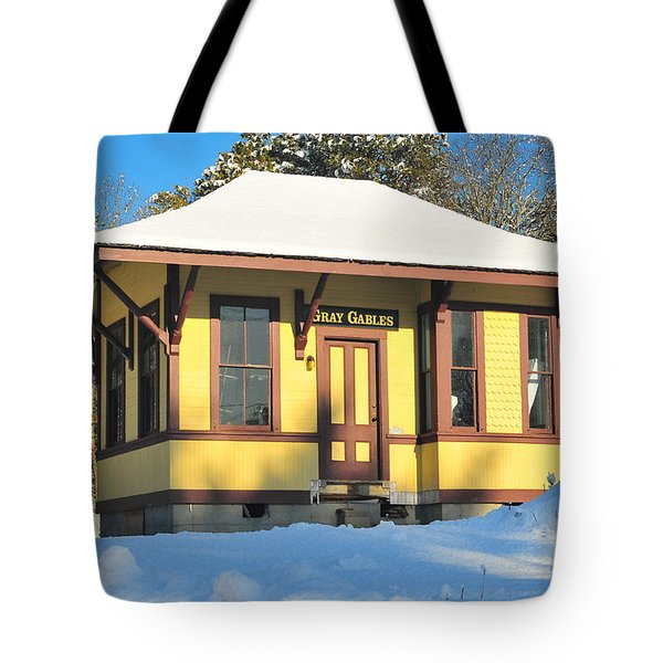Gray Gables  Tote Bag by Catherine Reusch Daley