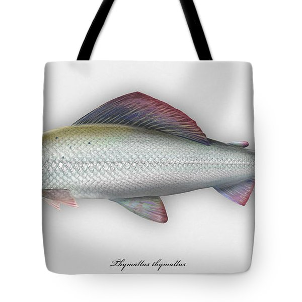 Grayling - Thymallus Thymallus - Ombre Commun - Harjus - Flyfishing - Trout Waters - Trout Creek Tote Bag