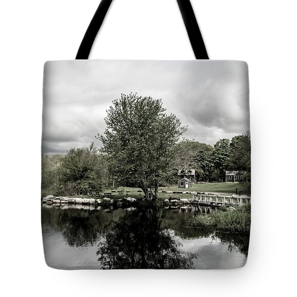 Grays Mill Pond Tote Bag
