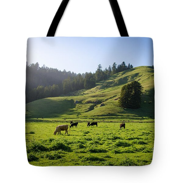 Grazing Hillside Tote Bag
