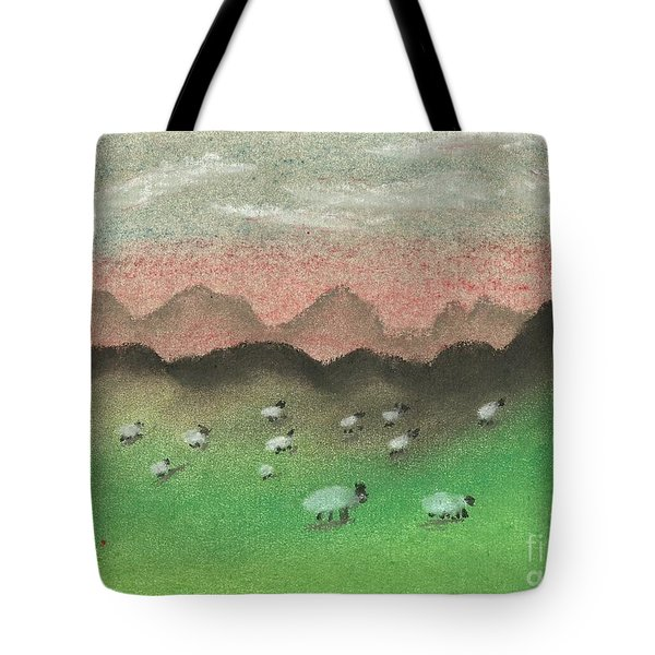 Grazing In The Hills Tote Bag