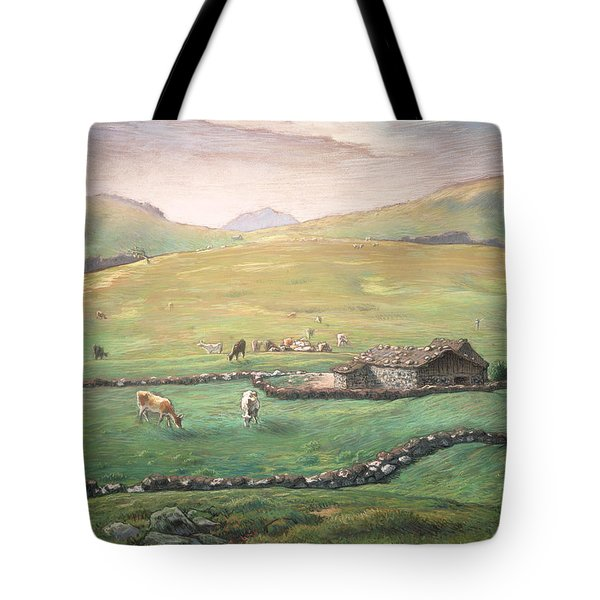 Grazing In The Vosges Tote Bag