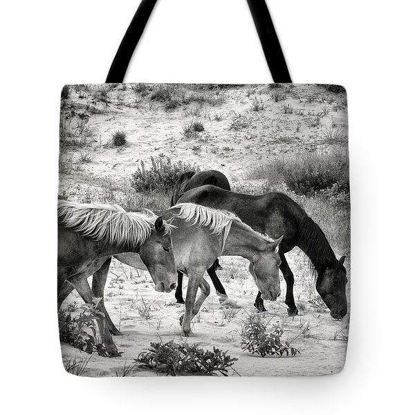 Grazing Tote Bag by William Beuther