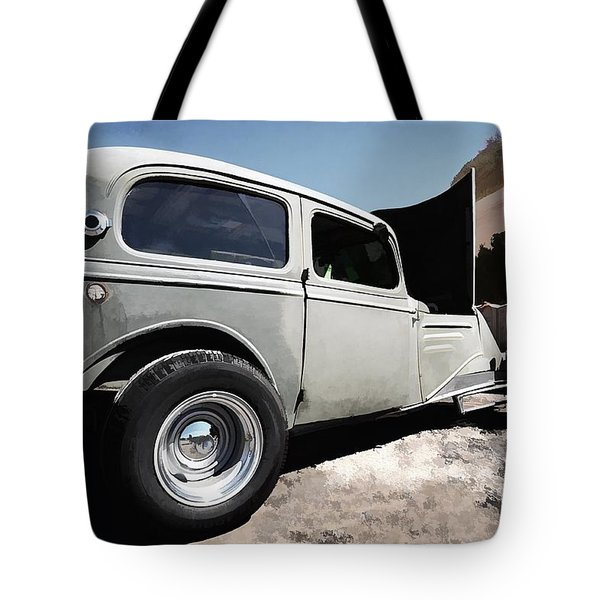 Tote Bag featuring the photograph Greaserama 2011 by Liane Wright