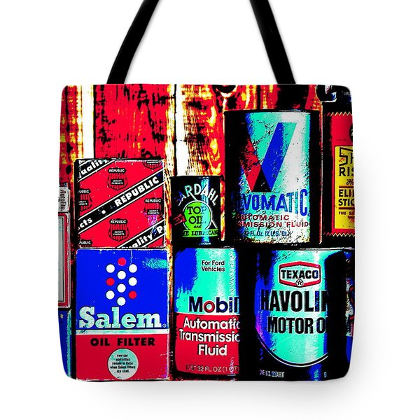 Greasy Tote Bag by Benjamin Yeager