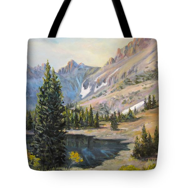 Great Basin Nevada Tote Bag by Donna Tucker