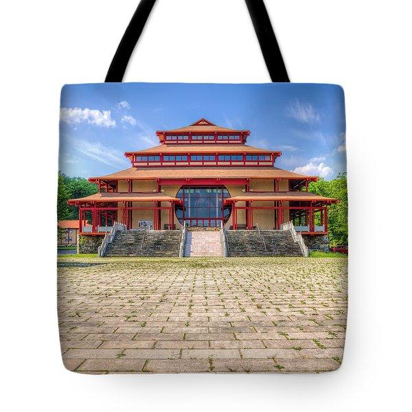 Great Buddha Hall Tote Bag