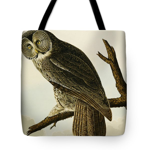 Great Cinereous Owl Tote Bag
