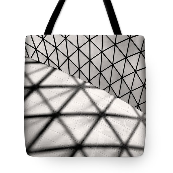 Great Court Abstract Tote Bag