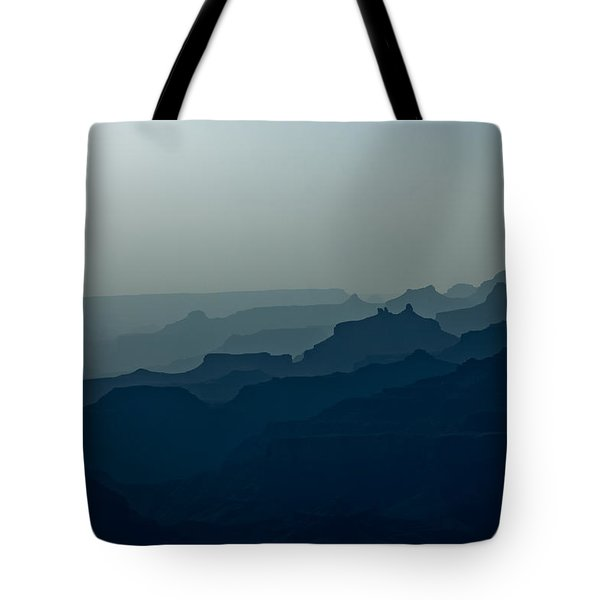 Tote Bag featuring the photograph Great Crevice by Joel Loftus