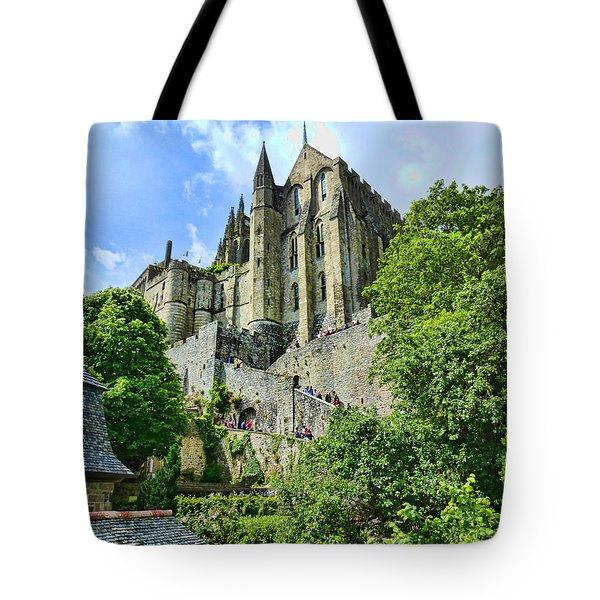 Great Day At The Mont Tote Bag