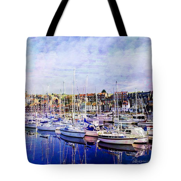 Great Day For Getting Out On The Water Featured In Abc-newbies And Photography And Textures Groups Tote Bag by EricaMaxine  Price
