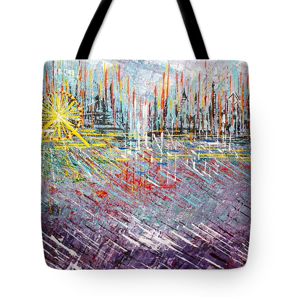Great Day In Chicago - Sold Tote Bag