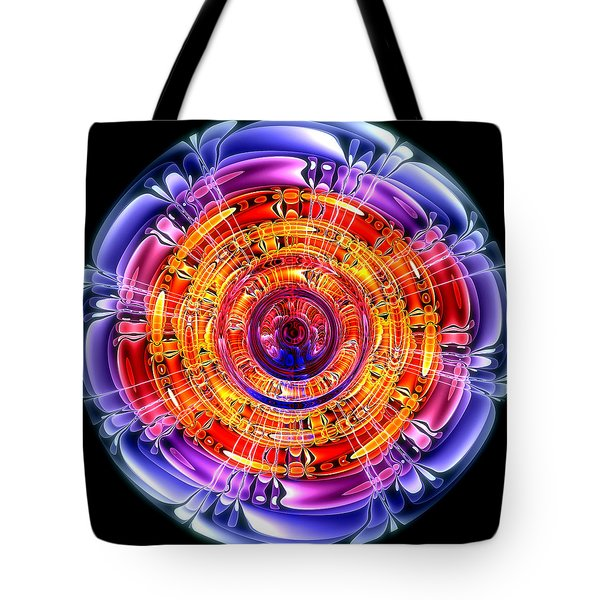 Tote Bag featuring the digital art Great Energy by Pete Trenholm