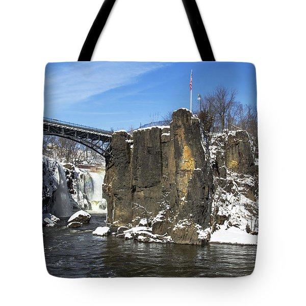 Great Falls In Color Tote Bag
