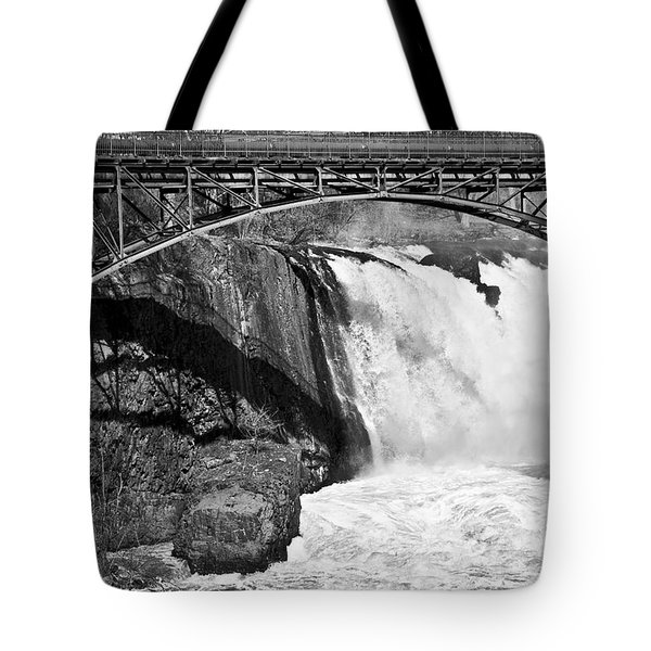 Great Falls In Paterson Nj Tote Bag