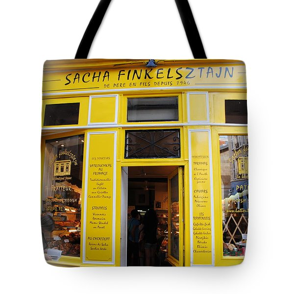 Tote Bag featuring the photograph Great Food In Marais by Jacqueline M Lewis