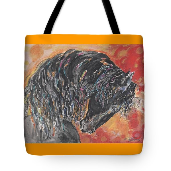 Great Fresian Tote Bag by Mary Armstrong